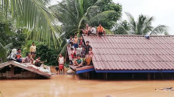 Người dân khu vực hạ lưu được thông báo sơ tán trước khi xảy ra sự cố vỡ đập thủy điện Sepien Senamnoi? ảnh 4