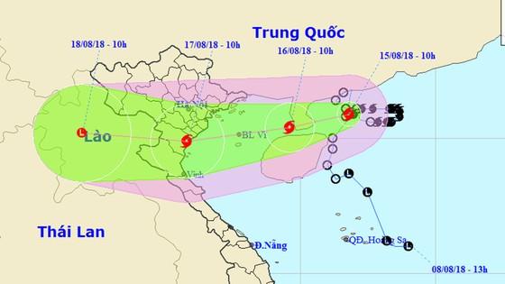Bão tiến gần Hải Phòng - Nghệ An, miền Bắc mưa rất to ảnh 4