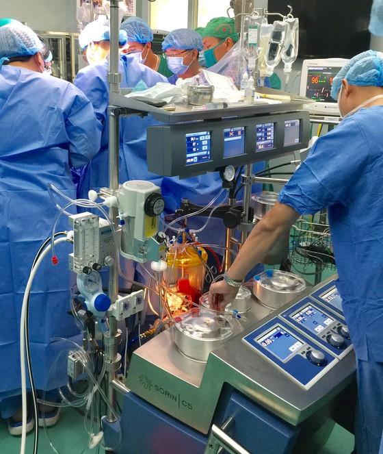 Lần đầu tiên Việt Nam phẫu thuật lồng ngực có sử dụng máy tim phổi nhân tạo ảnh 1