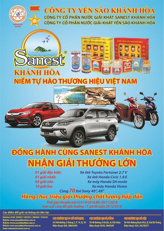 Chương trình khuyến mãi sản phẩm Sanest Khánh Hòa - niềm tự hào thương hiệu Việt Nam ảnh 1
