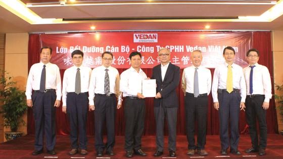 Vedan Việt Nam tích cực thực hiện đào tạo nội bộ doanh nghiệp  ảnh 1