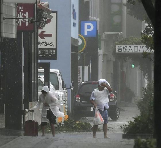 Bão Trami đổ bộ Nhật Bản, 5 người bị thương ảnh 2