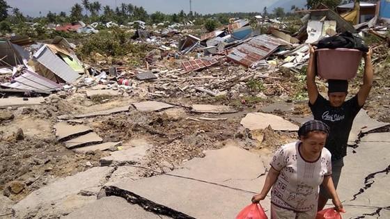Số người chết vì động đất, sóng thần Indonesia tăng lên hơn 1.200 người ảnh 17