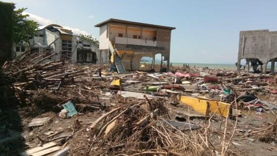 Số người chết vì động đất, sóng thần Indonesia tăng lên hơn 1.200 người ảnh 27