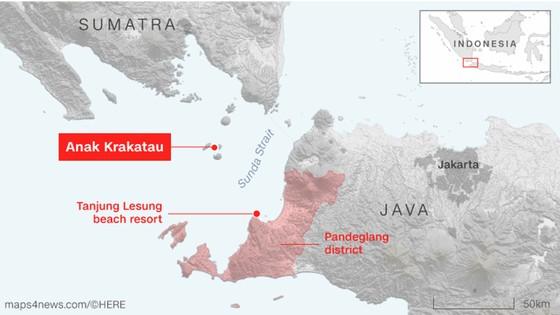 Ít nhất 281 người thiệt mạng và hơn 1.000 người bị thương trong vụ sóng thần tại Indonesia ảnh 2