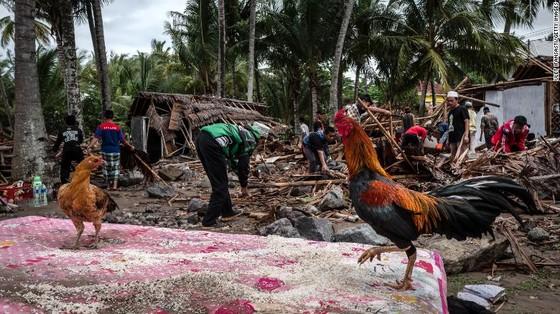 429 người thiệt mạng, 1.485 người bị thương và ít nhất 154 người mất tích trong trận sóng thần tại Indonesia ảnh 8