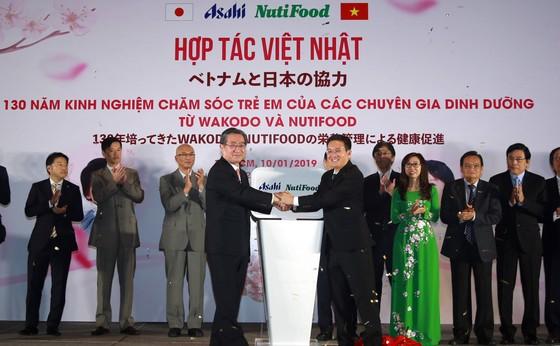 Công bố liện doanh giữa NutiFood với Tập đoàn Asahi của Nhật Bản  ảnh 1