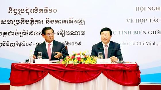 Xây dựng biên giới Việt Nam - Campuchia hòa bình, hữu nghị, hợp tác và phát triển ảnh 1