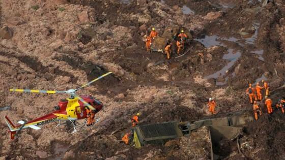 Ít nhất 9 người thiệt mạng và hàng trăm người mất tích trong vụ vỡ đập tại Brazil ảnh 3