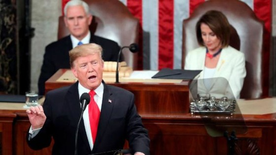 Tổng thống Mỹ đọc Thông điệp Liên Bang năm 2019 ảnh 1