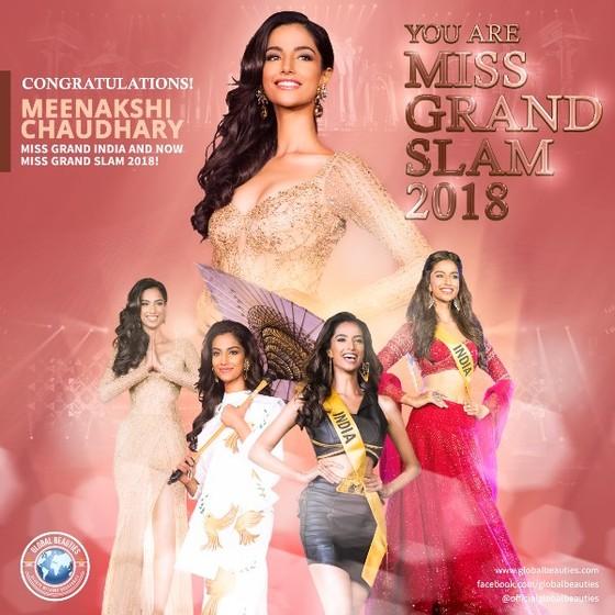 Mỹ nhân Ấn Độ - Meenakshi Chaudhary là Hoa hậu của các hoa hậu ảnh 1