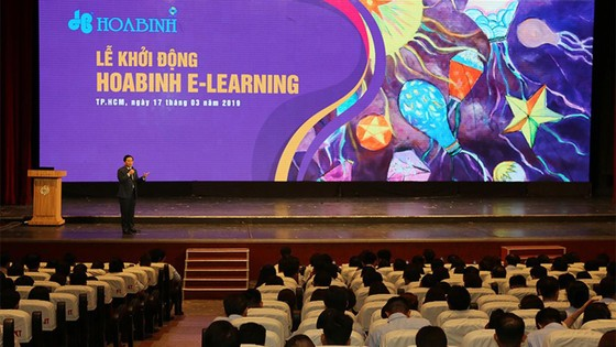 """Công ty CP Tập đoàn Xây dựng Hòa Bình khởi động dự án """"Hoa Binh E-Learning"""" ảnh 1"""