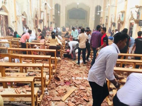 Hàng loạt vụ nổ ở Sri Lanka, ít nhất 207 người thiệt mạng ảnh 10