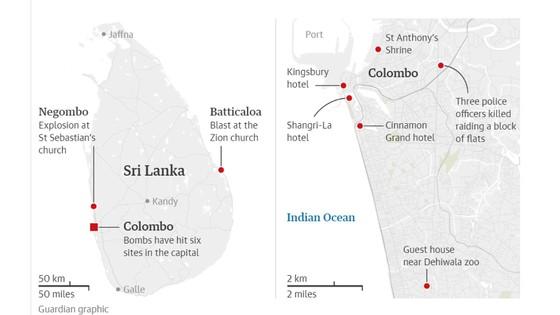 Hàng loạt vụ nổ ở Sri Lanka, ít nhất 207 người thiệt mạng ảnh 2