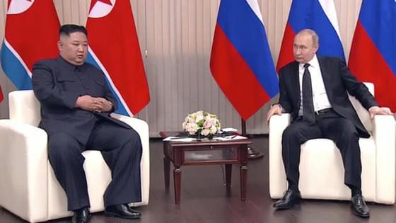 Hội nghị thượng đỉnh Nga-Triều: Hai nhà lãnh đạo đánh giá cao kết quả hội đàm ảnh 1