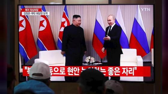 Hội nghị thượng đỉnh Nga-Triều: Hai nhà lãnh đạo đánh giá cao kết quả hội đàm ảnh 2