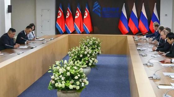 Hội nghị thượng đỉnh Nga-Triều: Hai nhà lãnh đạo đánh giá cao kết quả hội đàm ảnh 4
