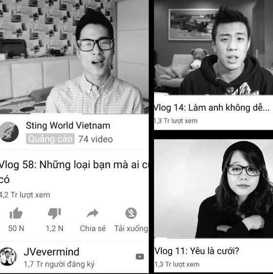 Vlog của người trẻ ngày càng nhạt ảnh 1