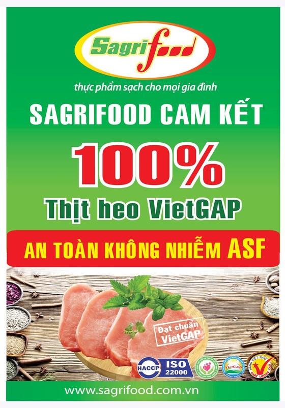 Sagrifood kiểm soát chặt quy trình nuôi heo để không nhiễm dịch tả heo châu Phi ảnh 1