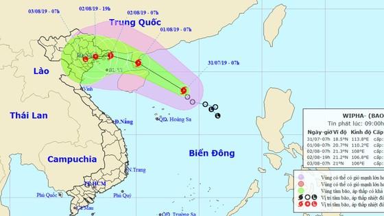 Áp thấp nhiệt đới đã mạnh lên thành bão, đổ bộ các tỉnh từ Quảng Ninh đến Nam Định ảnh 1