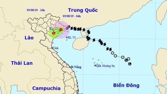 Bão số 3 đã suy yếu thành áp thấp nhiệt đới ảnh 2