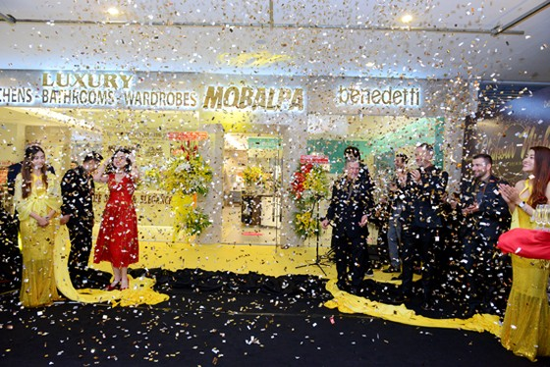 Khai trương showroom nội thất cao cấp Mobalpa và Benedetti ảnh 1