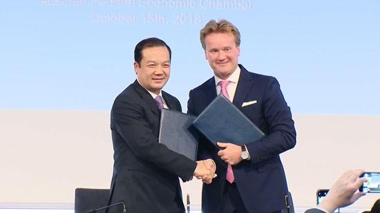 VNPT ký kết nhiều thỏa thuận hợp tác quốc tế ảnh 1