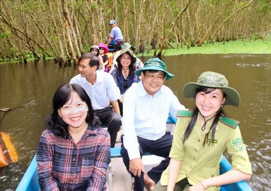 Kỳ quan xanh hạ lưu dòng Mekong ảnh 1
