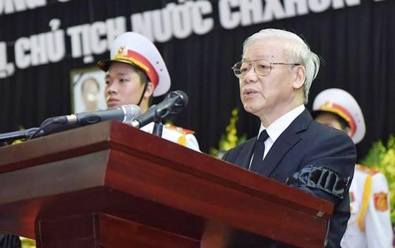 Lời điếu tại Lễ truy điệu Chủ tịch nước Trần Đại Quang ảnh 1