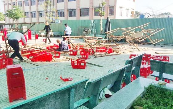 Quan tâm, hỗ trợ học sinh bị thương trong tai nạn sập giàn giáo ở huyện Bình Chánh ảnh 1