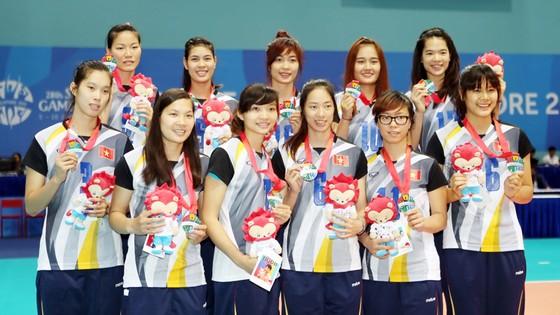 Tại SEA Games 28, bóng chuyền nam và nữ Việt Nam đều giành được thành tích cao. Ảnh: DŨNG PHƯƠNG