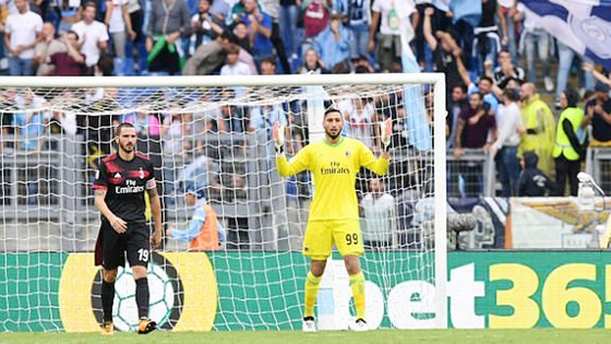 Vòng 3 - Serie A: Lazio bất ngờ hạ gục AC Milan 4 - 1 ảnh 1