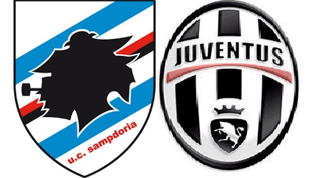 Vòng 13 - Serie A: Sampdoria đối đầu Juventus