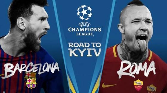 Tứ kết Champions League: Messi và đồng đội sẽ đánh bại AS Roma?