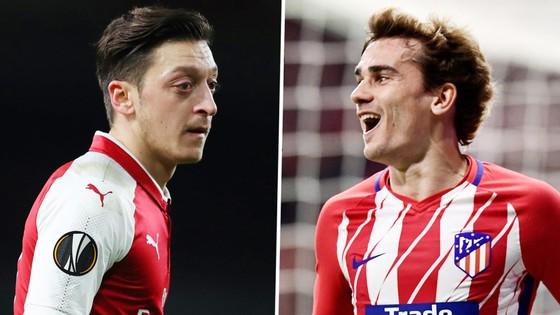 BK lượt đi Europa League 2018 (27-4): Arsenal đại chiến Atletico Madrid