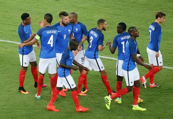 Các cầu thủ Pháp sẽ cuộc kiểm tra quan trọng trước Italia