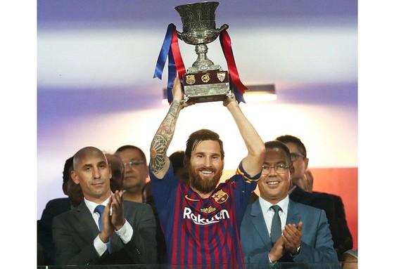 Messi và đồng đội có khởi đầu mùa giải khá ấn tượng. Ảnh: Reuters