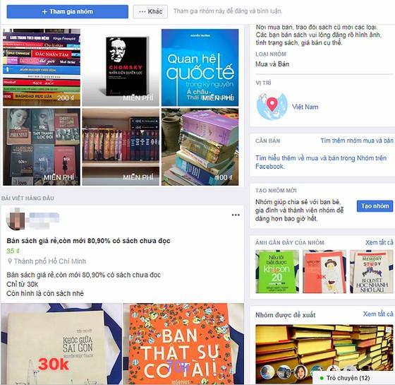 Sôi động thị trường sách online ảnh 1