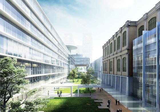 Triển lãm phương án thiết kế Quy hoạch TMB tỷ lệ 1/500, KT công trình trụ sở HĐND và UBND TPHCM ảnh 1
