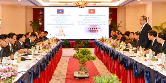 TPHCM mong muốn là nhà đầu tư lớn nhất của thủ đô Vientiane (Lào) ảnh 1