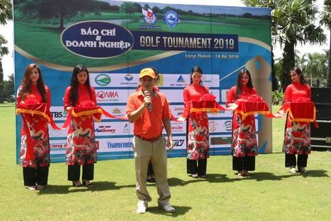 Giải golf Báo chí và Doanh nghiệp mừng ngày Báo chí Cách mạng Việt Nam ảnh 1