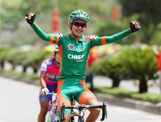 Tay đua Nguyễn Hoàng Sang. Ảnh: D.Thu