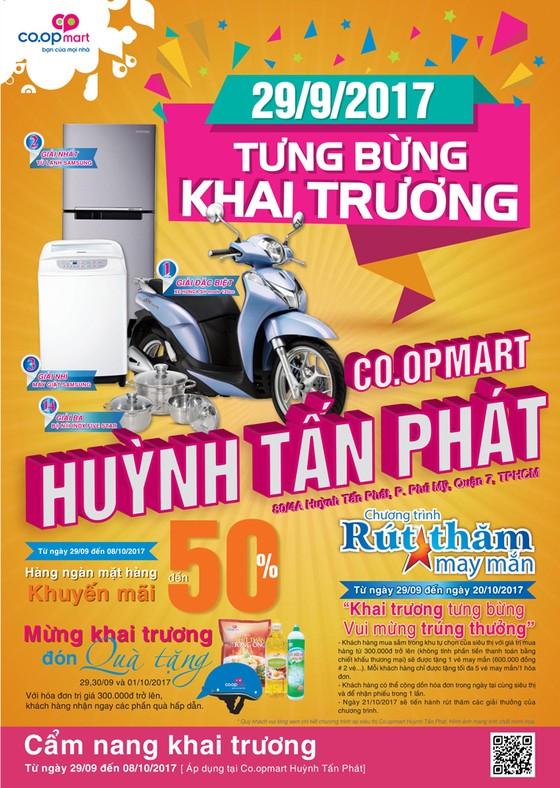Co.opmart Huỳnh Tấn Phát sẽ giảm giá mạnh và tặng Honda SH Mode dịp khai trương ảnh 3
