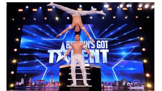 Quốc Cơ - Quốc Nghiệp tạo dấu ấn tại Britain's Got Talent ảnh 1