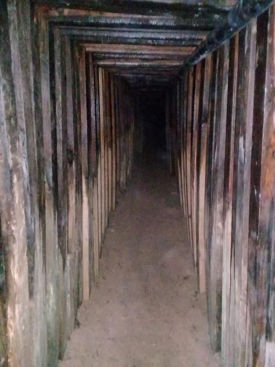 Phát hiện đường hầm ma túy nối từ Mỹ sang Mexico ảnh 1