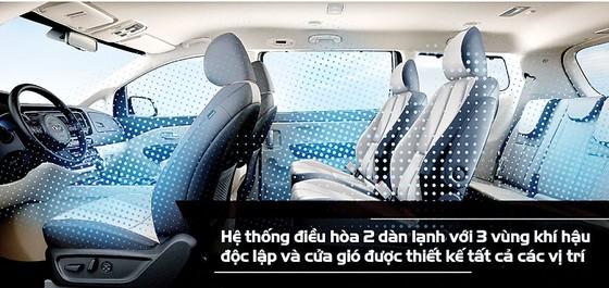 Kia Sedona mới: Nâng cấp sang trọng hơn, tiện nghi hơn ảnh 1