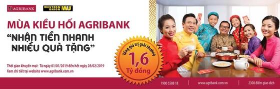 Mùa kiều hối Agribank 2019: Nhận tiền nhanh, nhiều quà tặng ảnh 2