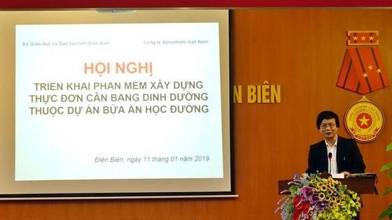 Chuẩn hóa thực đơn bán trú bậc tiểu học ở Điện Biên ảnh 1