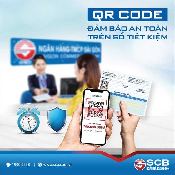 SCB triển khai tính năng tra cứu thông tin sổ tiết kiệm bằng mã QR Code ảnh 1