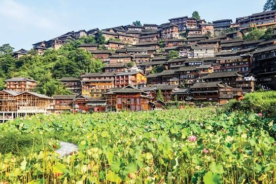 Độc đáo miêu làng Tây Giang Trung Quốc ảnh 3